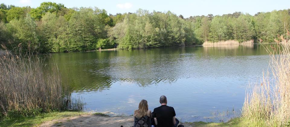 Heute ist der See für die Menschen in der Umgebung ein ganz besonderer Ort
